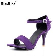 RizaBina бесплатная доставка высокие сандалии пятки женщин сексуальное платформа модной обуви обувь P13540 EUR размер 30-43