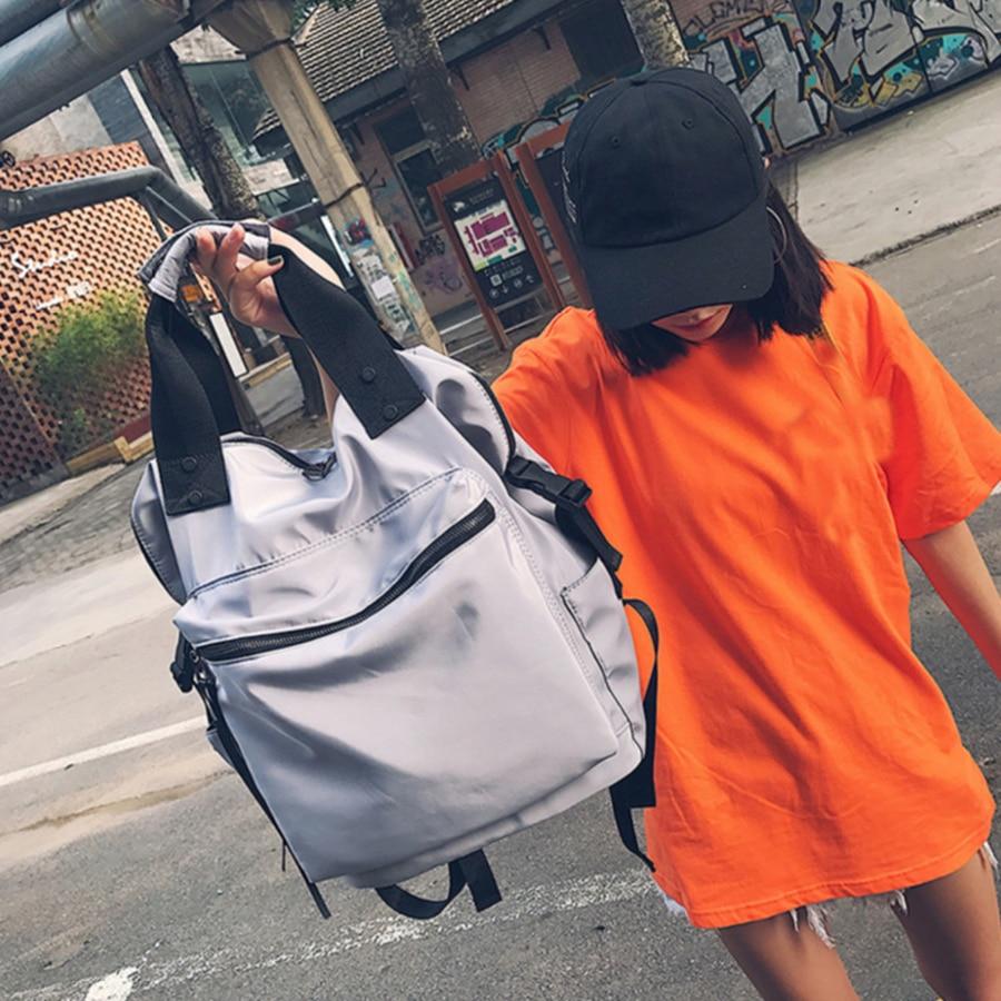 2019 Nylon Backpack Women Casual Backpacks Ladies High Capacity Back To School Bag Teenage Girls Travel Students Mochila Bolsa #2
