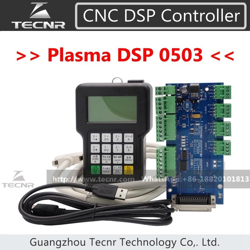 کنترل کننده پلاسما 3 محور DSP 0503 نسخه انگلیسی سیستم کنترل USB برای دستگاه برش پلاسما DSP0503