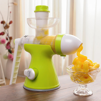Portable Multi Mini Manual Juicer Machine Ice Cream Machine Hand Juicer Fruit Grinder Machine No Electricity Baby Food healthy mini manual juicer with good price