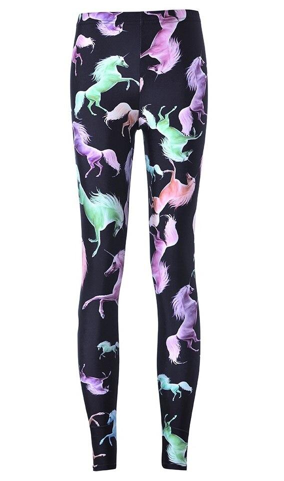 New Women Sexy Elastic Slim Leggings Pants Fitness Yoga Gym Trousers Colorful font b Horse b