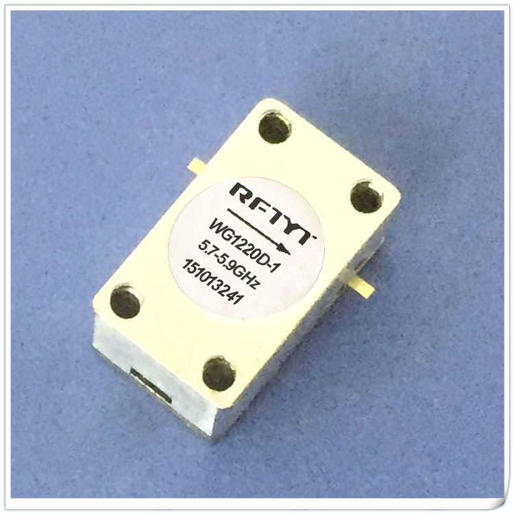 5.7-5.9GHz RF Isolator Circulator Microstrip Isolator 5.8G Size 12x20