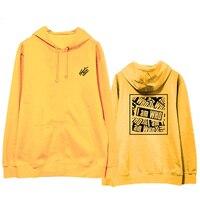Fashion Straykids Hoodie I am Who Sweatershirt Hip Hop Street Wear Kpop Stray Kids Winter Hoodie Coat