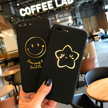 TPU Frosted soft shell for iPhone 7 case 7plus Golden Marking phone sell for apple iPhone Ten 6s 8 7plus X 6plus cases goowiiz чёрный iphone 7plus