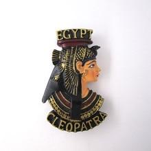 магнит на холодильник сувениры древнего египта страны королева анубис красоты ручная роспись смолы