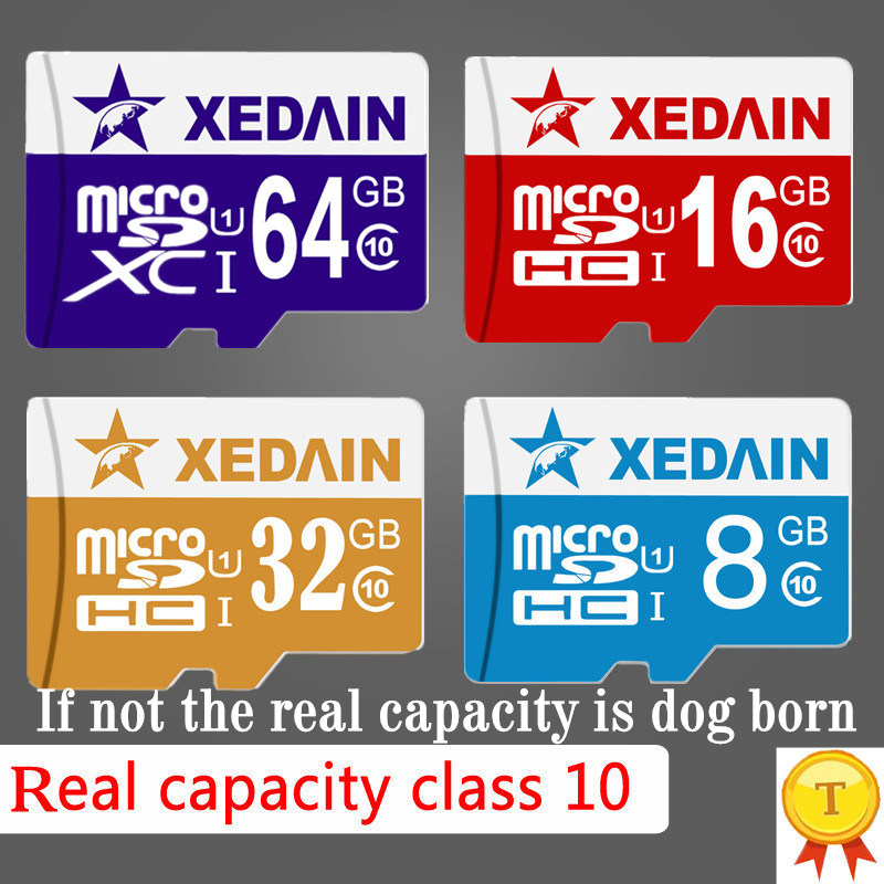 XEDAIN8 for Smartphone/Tablet Real Capacity Memory cards 64G