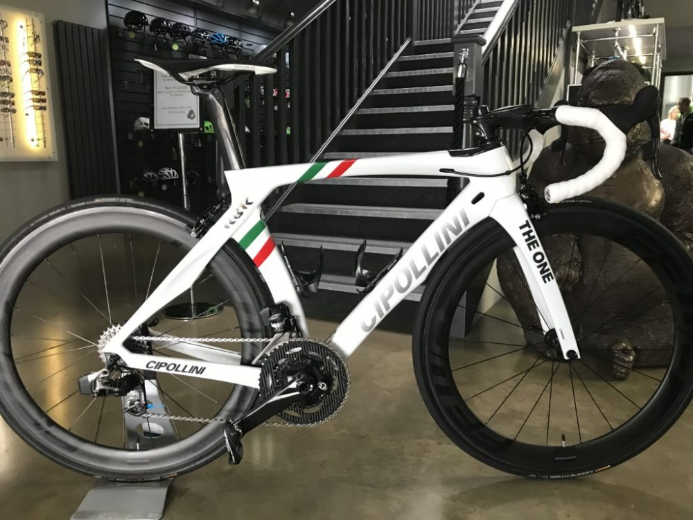 Cipollini RB1K THE ONE Italian Champion Carbon Road Bike With Ultegra 5800 R8000 Groupset For Sale 50mm Carbon Road Wheelset(China)