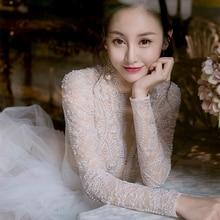 Unique Wedding Dress Lace Top Bridal Gown Dresses For Bride Custom Made To Order Superbweddingdress