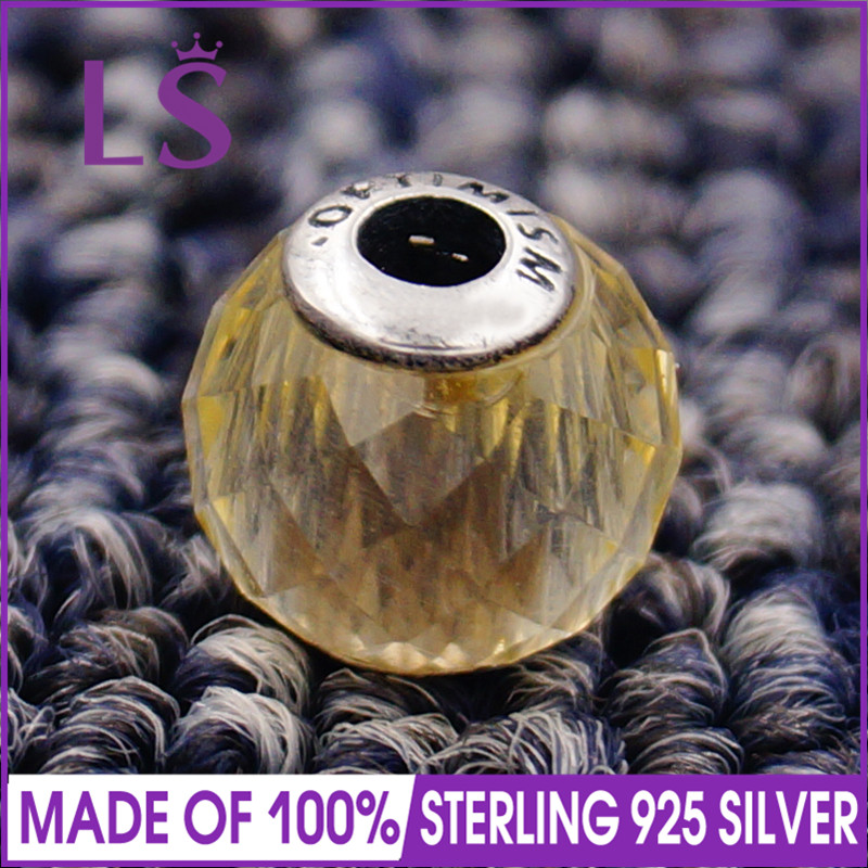 LS High Quality 100% S925 Silver Essence Optimism Charm Beads Fit Original Essence Bracelets Pulseira Essencia.Real Fine Jewlery