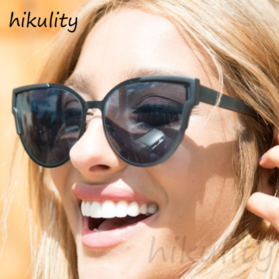 Black Smoke Cat Eye Sunglasses Women 2018 Luxury 90s Fashion Cateye Sun Glasses Female Australia Style Quay Sunglasses for Women ...