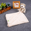 Baby Infant Cute Bear Soft Coral Fleece Appease Towel Toys For Boy And Girl