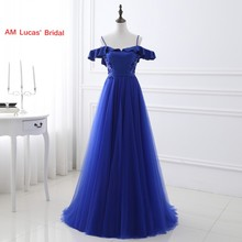 Sexy A Line Evening Dress 2017 Tulle Deep V Back Women Formal Gown For Prom Wedding Party Dresses Robe De Soiree