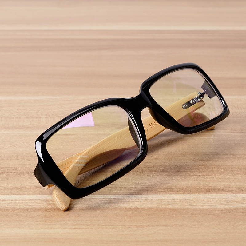 53b7c0d46e9 NOSSA Quality Handmade Bamboo Glasses Frame Women Men Retro Myopia  Prescription Eyewear Frames Wooden Eyeglasses Goggles-in Eyewear Frames  from Apparel ...