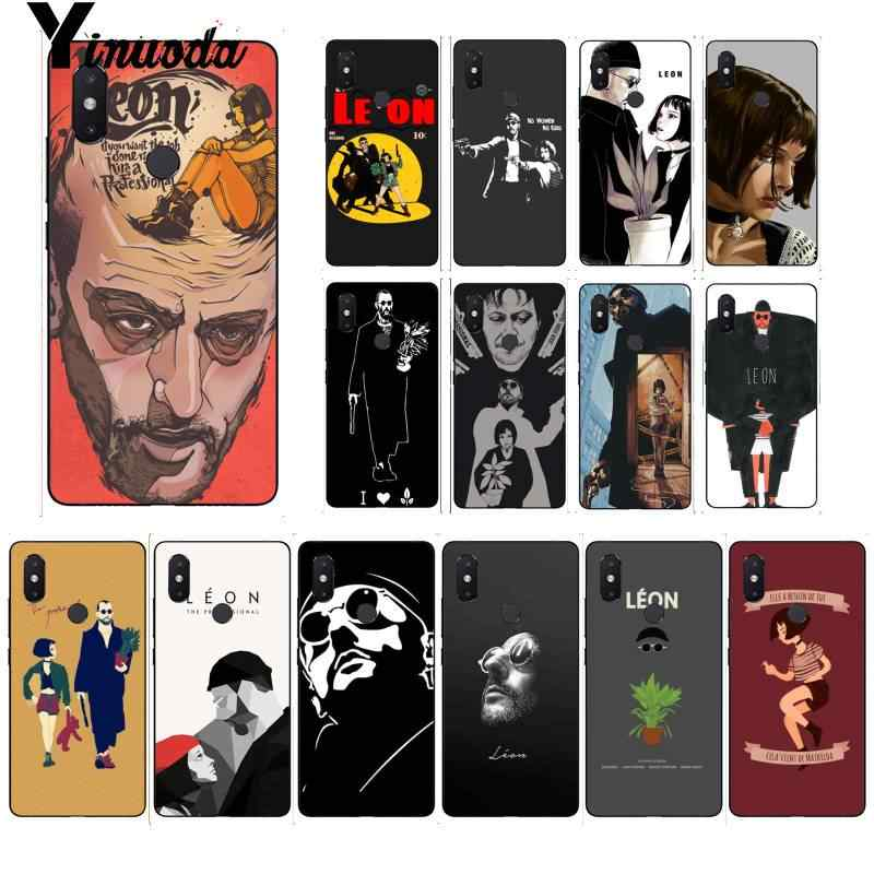 Yinuoda The Professional Killer Leon Matilda Natalie Phone Case for Xiaomi Mi 6 Mix2 Mix2S Note3 8 8lite Redmi 5 note5 Note4 4X