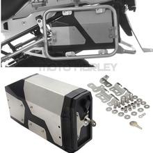 Декоративная коробка из нержавеющей стали для BMW R1200GS LC adventure 2004- ящик для инструментов подходит для бокового кронштейна BMW