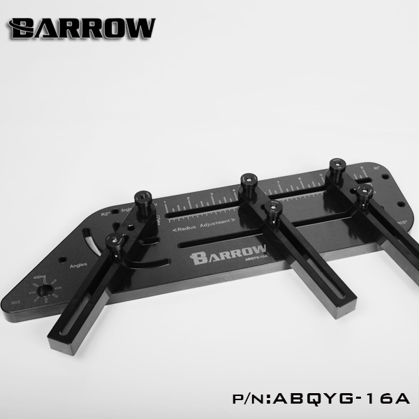 Barrow multi-angle Acrylic PMMA /PETG Rigid hard tube bending mould computer water cooling ABQYG-16A Black цена