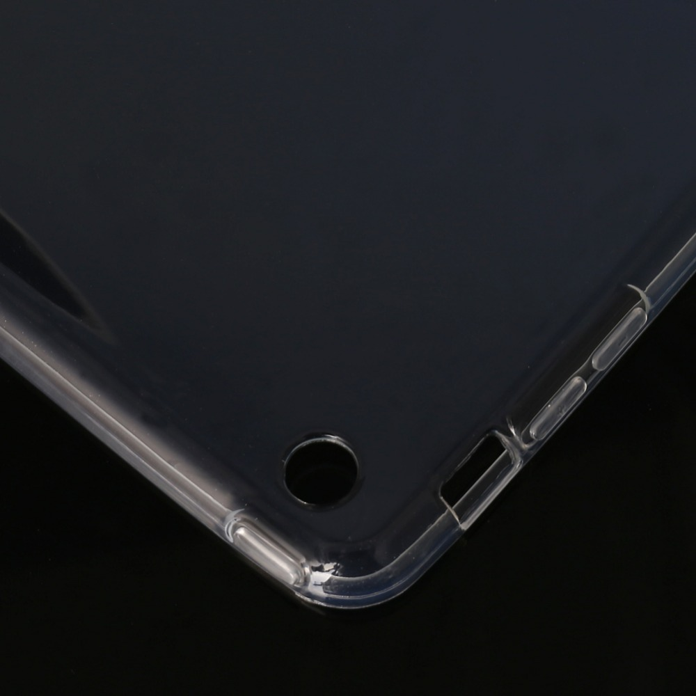 New Ultra Thin Transparent Soft TPU Case Cover For iPad 1/2/3/4 Air Mini Pro 9.7'' Tablet PC Clear Protective Shell C26