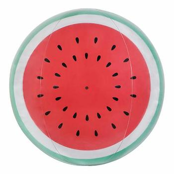 Inflatable Fruit Watermelon Orange Beach Ball Water Playing Toy for Summer Holidays Outdoor Swimming Pool Party Kids Children 4