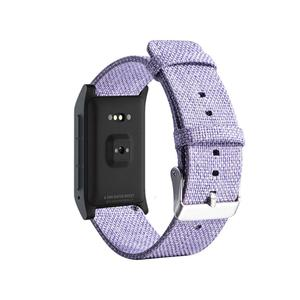 Image 3 - New High Quality Strap Universal Nylon Canvas Watchband 22mm Smart Watch Strap For Pebble Time 1 2 Generation
