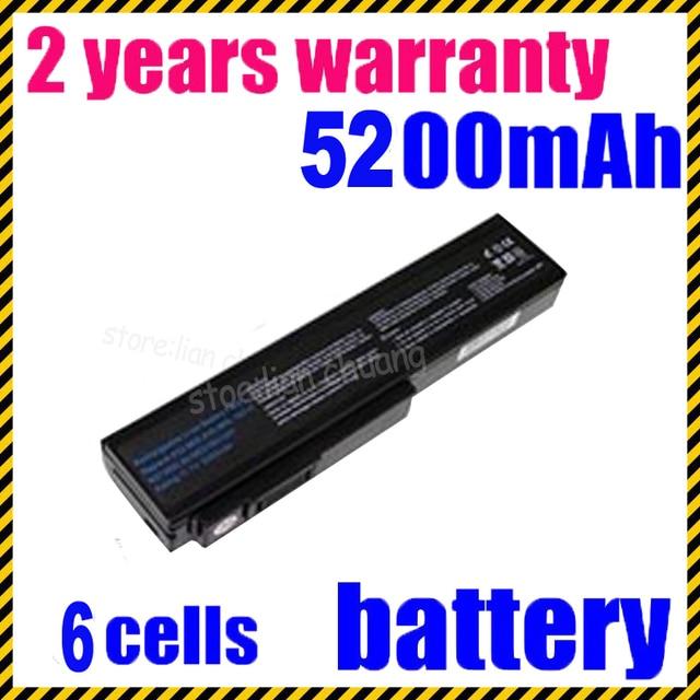JIGU 4400mAH Laptop Battery for Asus N61 N61J N61Jq N61V N61Vg N61Ja N61JV N53 M50 M50s N53S A32-M50 A32-N61 A32-X64 A33-M50