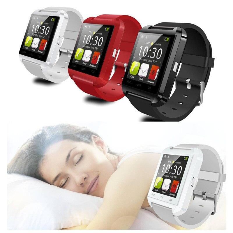 Smartwatch Bluetooth Montre Smart Watch U8 Montre-Bracelet pour Pour Android Montre Smartphone Montre Smart Watch PK GT08 DZ09 A1 M26 T8