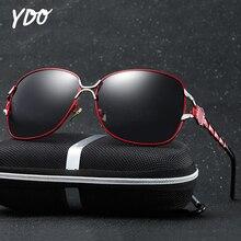 YDO 2019 New Jade Nosepad Polarized Sunglasses Women UV400 Sun Glasses Luxury Oversized Female Retro Vintage Ladies
