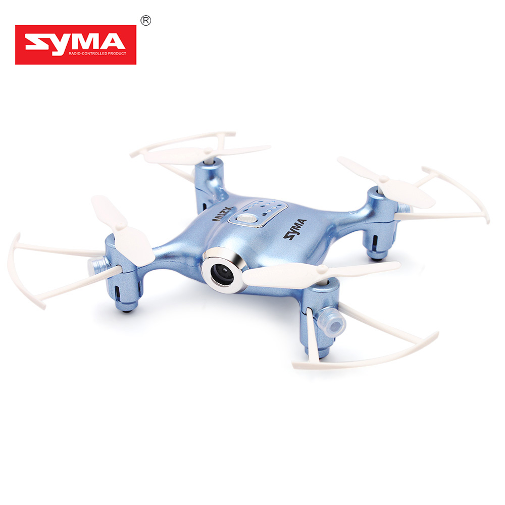 SYMA X21W Mini Drone with HD Camera WIFI FPV Helicopter 2.4GHz 4CH 4Aixs Gyro Altitude Hold Mode RC Quadcopter Mini Drone syma x14w 2 4g 4ch 6 axis gyro rc quadcopter with 702p hd camera wifi fpv remote control drone rc helicopter altitude hold