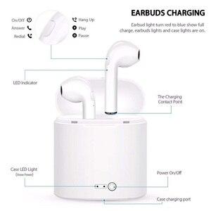 Image 4 - I7 i7s TWS ワイヤレス fone のデ ouvido xiaomi in ear Bluetooth イヤホンインナーイヤーの Mic とすべてのスマートフォン