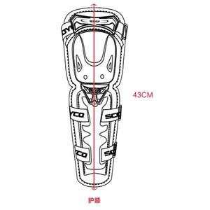 Image 5 - 오토바이 Kneepad K11 SCOYCO H11 Motocross 모터 나이트 안티 가을 승마 보호 장비 무릎 패드 PE 쉘 protetor K
