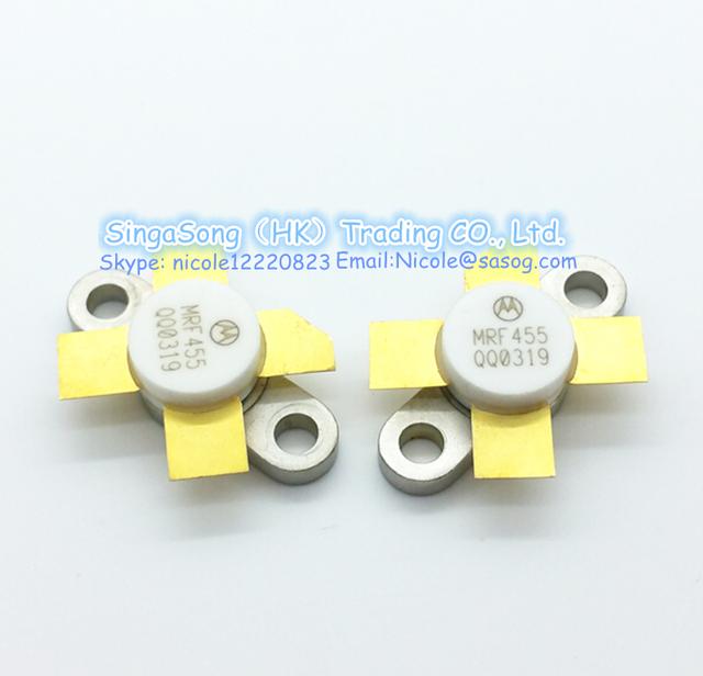 Envío libre!! 1 Unids/lote MRF 455 MRF455 Rf La Línea NPN Silicon RF Transistor De Energía