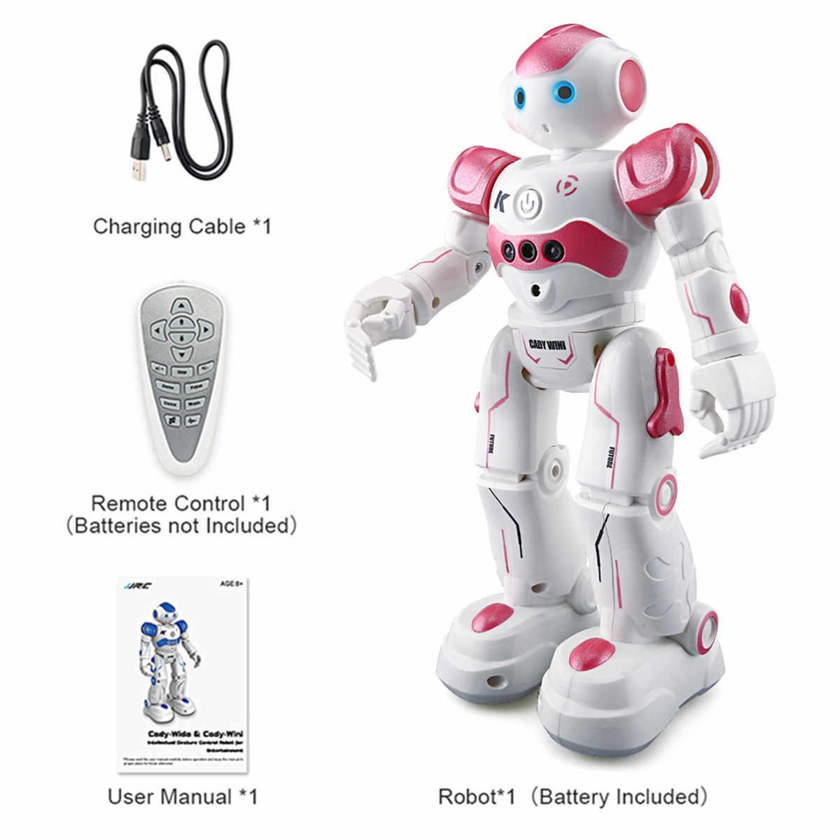 LEORY RC 로봇 지능형 프로그래밍 원격 제어 Robotica 장난감 Biped 휴머노이드 로봇 어린이를위한 생일 선물