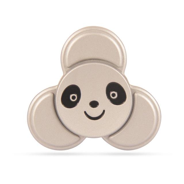 Panda High Speed Fidget Toys Heavy EDC Finger Spinner Cartoon Decorate Fidget Spinner Metal For Autism ADHD Adult Anti Stress