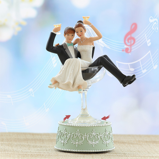 Us 396 0 High Grade Rotary Handmade Music Box To Send Girls Friends Decorations Ornaments Wedding Gift Ideas Birthday In Music Boxes From Home