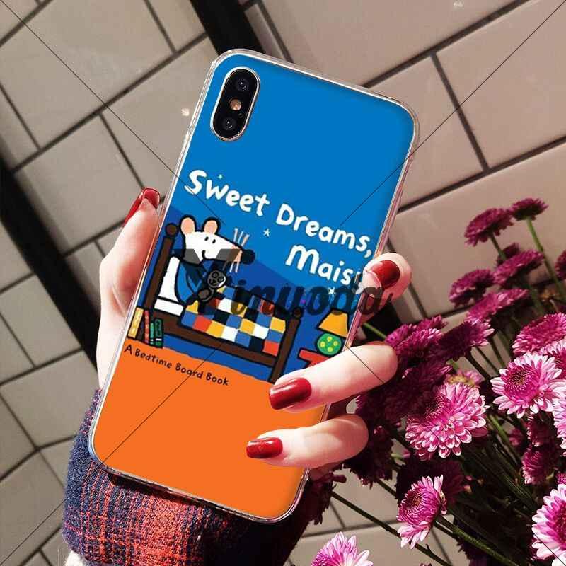 Yinuoda Maisy Mose Story Comic красочные милые аксессуары для телефонов Чехол для Apple iPhone 8 7 6 6 S Plus X XS MAX 5 5S SE XR чехол