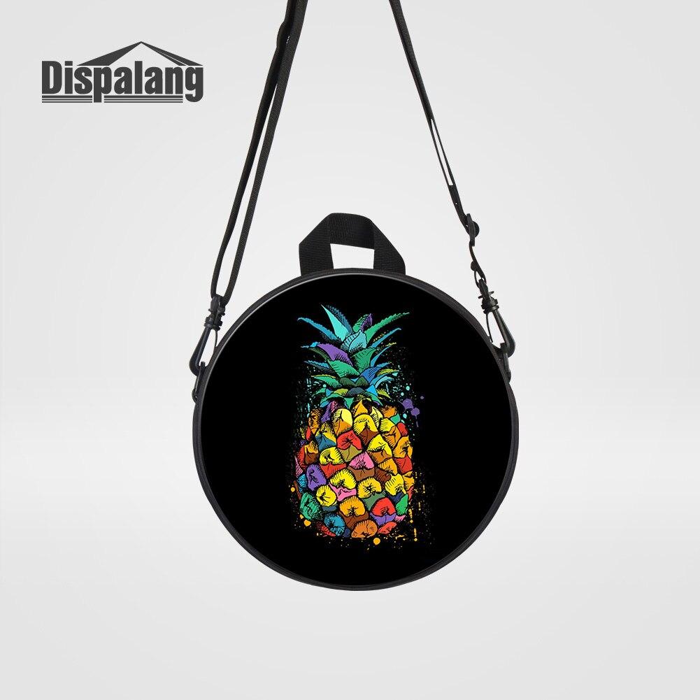 Begeistert Dispalang Kinder Mini Messenger Bags Für Schule Obst Ananas Druck Cross Body Schultertasche Für Mädchen Kinder Täglichen Rund Crossbody-taschen Gepäck & Taschen