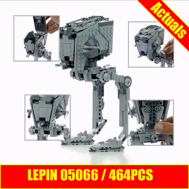 Lepin 05066 Star Genuine Wars Series The Rogue One AT Walker ST Building Blocks Bricks Educational DIY Toy 75153 for Children конструктор lepin star plan разведывательный транспортный шагоход at st 458 дет 05066