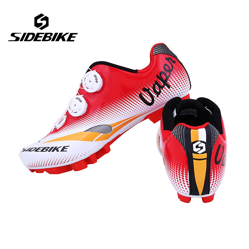 Sidebike Men Bicycle Cycling Shoes Mountain Breathable Non-Slip MTB Auto-Lock Bike Shoes Ultralight Zapatillas Zapato Ciclismo new sidebike breathable carbon athletic cycling shoes bike bicycle shoes racing mtb shoes zapatillas zapato ciclismo
