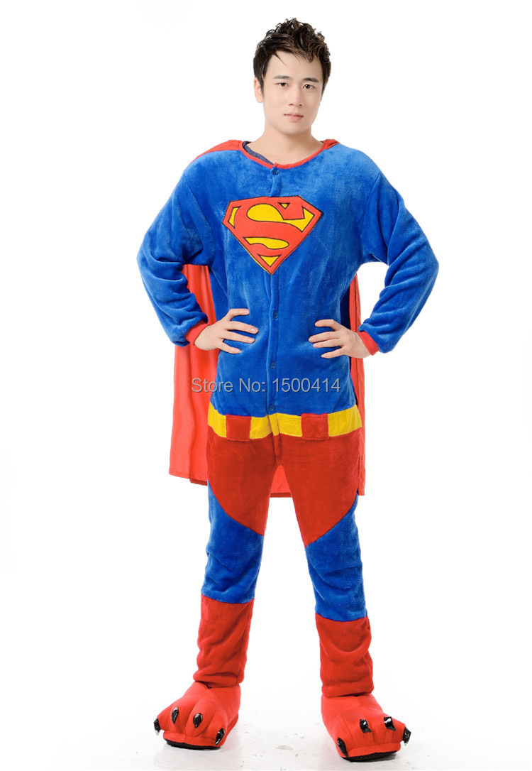 Online Buy Wholesale superman adult pajamas from China superman ...