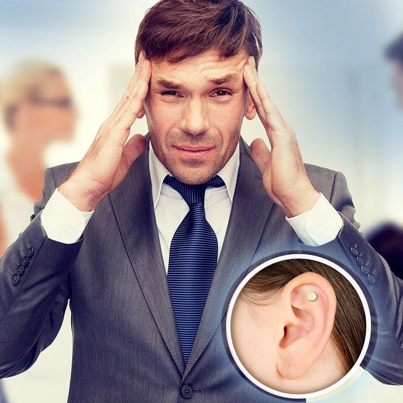 2Pcs Smoke Patch Stop Smoking Ear Massager Zero Smoke Auricular Therapy Magnet Quit Smoking No Cigarettes