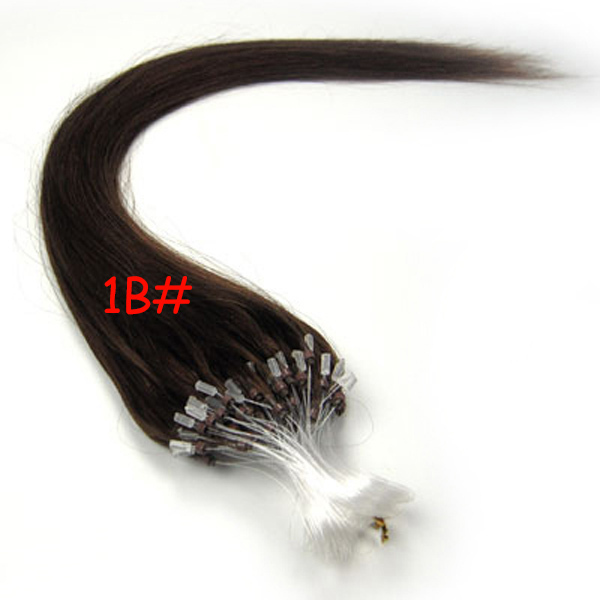 Loop Fishing Line Hair Extensions 14 32 Inches Fashion Brazilian