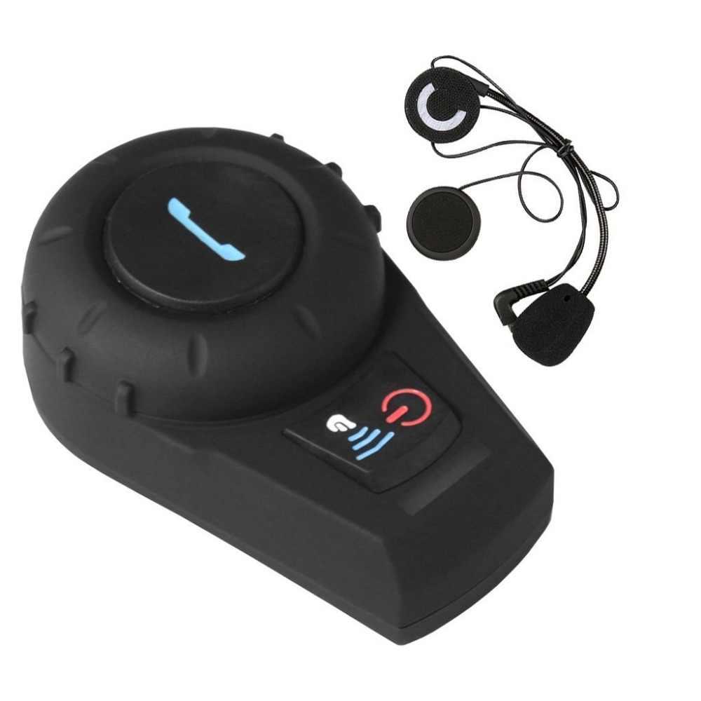 Freedconn bt motocicleta interfone capacete de moto interfone sistema comunicação bluetooth fone de ouvido para equitação esqui