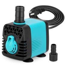 NCFAQUA 110-240V 600L/h Nano Submersible Aquarium Water Feature Pump for Fish Ta
