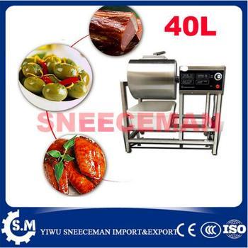 40L اللحوم التمليح آلة منقع الصينية آلة سالتر همبرغر متجر سريع التخليل آلة مع الموقت