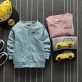 Super Chollo! 2016 Chaqueta de Moda de Alta Calidad de Los Bebés Del Otoño Niños prendas de Vestir Exteriores Ocasional Ropa Infantil para Niñas de 4-24 Meses