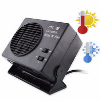 BYGD 2 In 1 Electric Car SUV Vehicles 12V 150 300W Portable Car Heating Cooling Heater