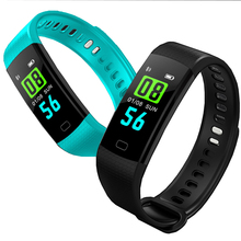 Y5 Smart Bracelet Sports Fitness Bracelet Tracker Color Screen Activity Pedometer Heart Rate Electronic Wristband for miband3