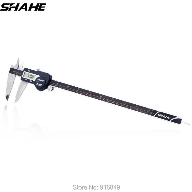 цена на shahe digital caliper 300 mm paquimetro digital caliper stainless steel electronic ruler digital vernier caliper