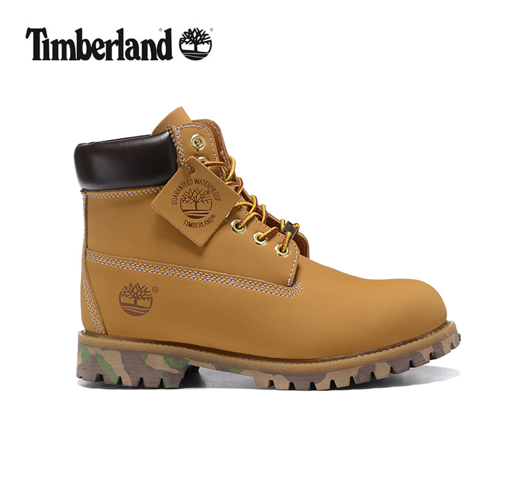 TIMBERLAND Women 10061 Military Camouflage Colorful Bottom Ankle Boots,Woman Timber Wearable Motorcycle boots Casual Shoes 36-40