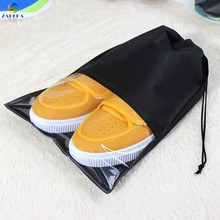 EIEYO Portable Travel Set Cosmetics Clothes Lingerie Bag Transparent Plastic Storage Self Beam Mouth Shoes bag for