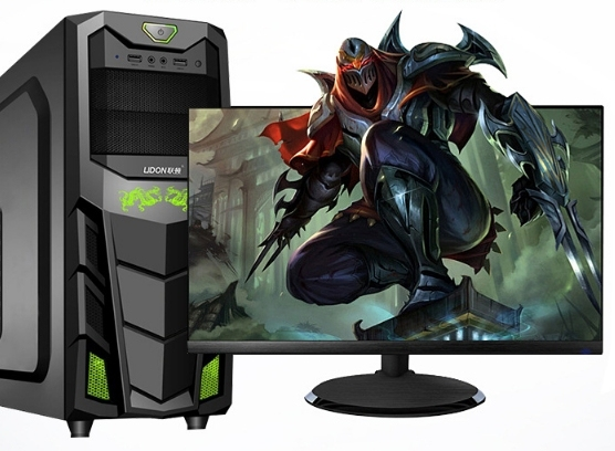 22 24 pulgadas pantalla LCD i5 3570 ordenador de escritorio para juegos diseño de moda i7 juego ordenador de escritorio